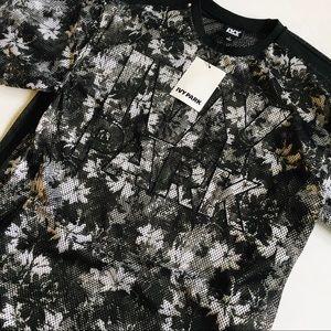 Ivy Park Floral Mesh Shirt